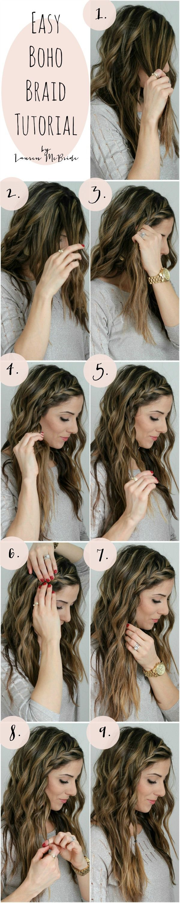 Boho Braid Tutorial