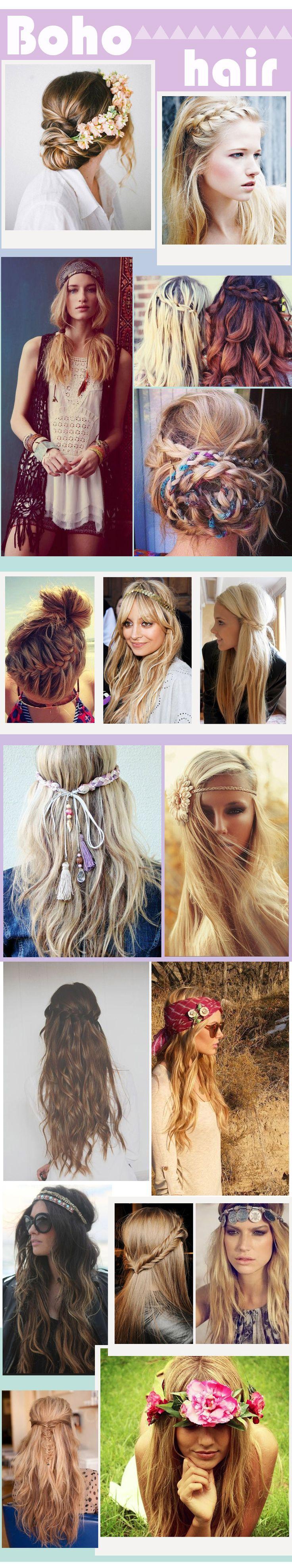 Boho-Chic Frisuren für Mädchen