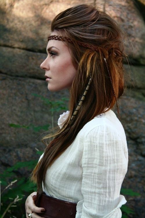 Cool Boho-Chic Hairstyle