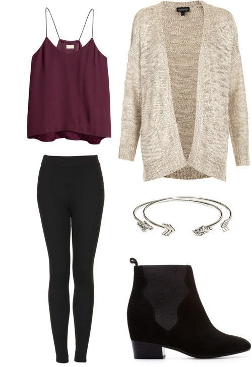Cool Night Out Outfit Idea