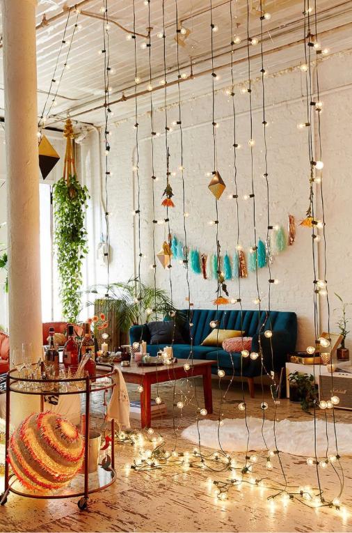 Divide an open-concept room