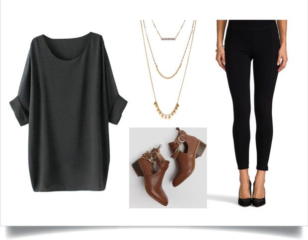Easy Night Out Outfit Idea