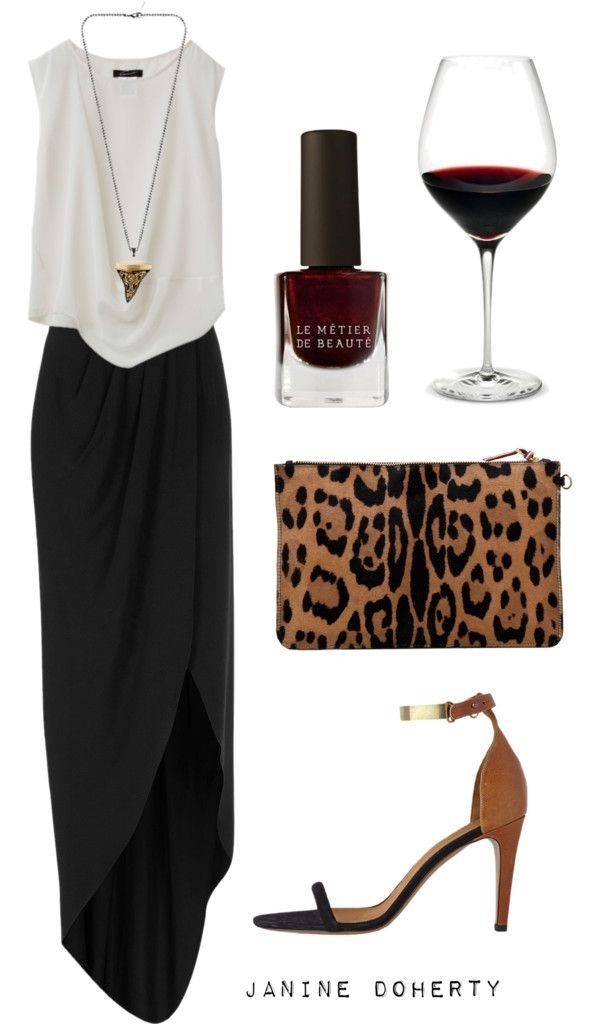 Elegant Night Out Outfit Idea