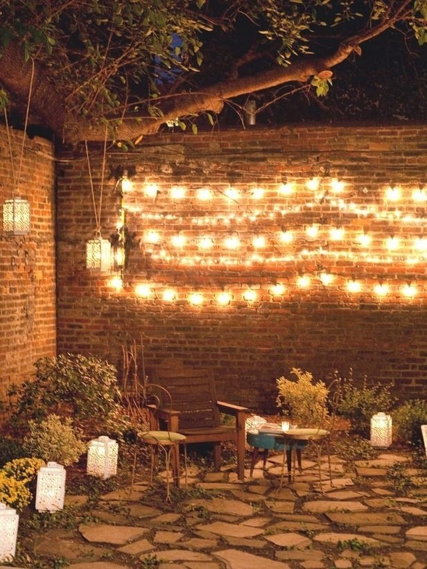 Outdoor mood lighting