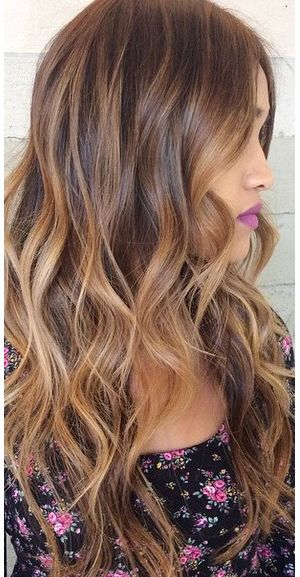 Pretty Ombre Hair Color Idea