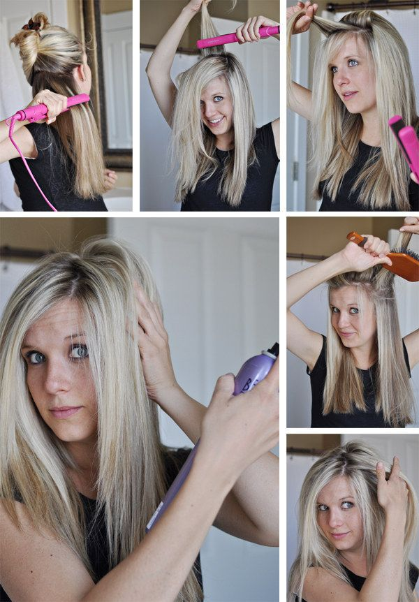 how to get perfectly straight hair with a straightener
