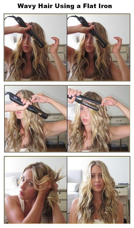 15 Hair Tricks Created by Hair Straightener - Pretty Designs