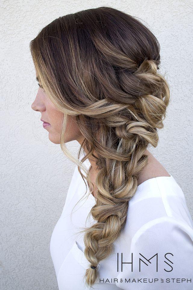 20 Herbst geflochtene Frisuren für langes Haar