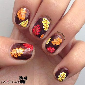 Autumn Inspired Nail Art