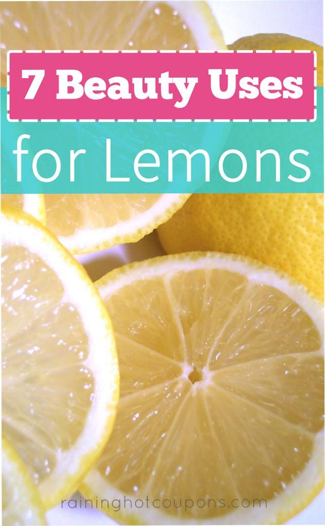 Beauty Tips with Lemon