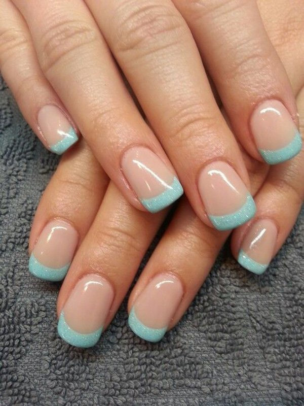 25 perfect french manicure ideas for 2016 pretty designs - Nageldesign beige gold ...