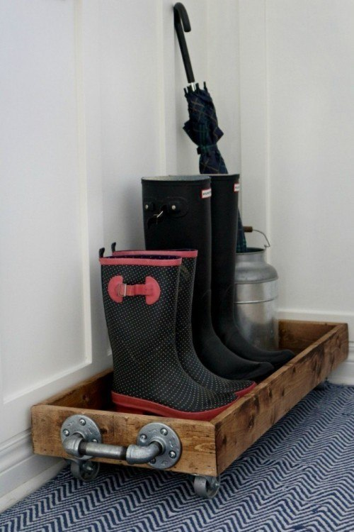 Boot Organization   Entryway