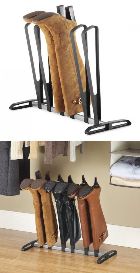 30 clever boot storage ideas pretty designs. Black Bedroom Furniture Sets. Home Design Ideas