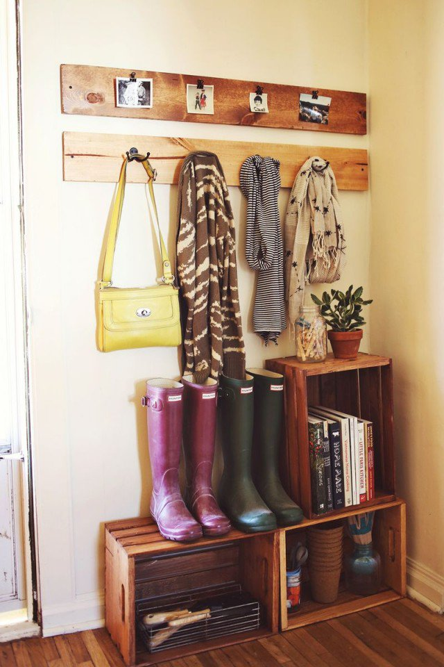 Boot Organization - Front Entryway