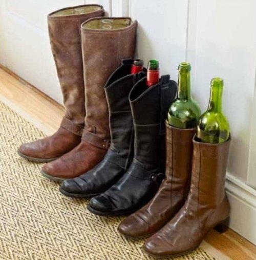 Boot Organization - Glass Bottles