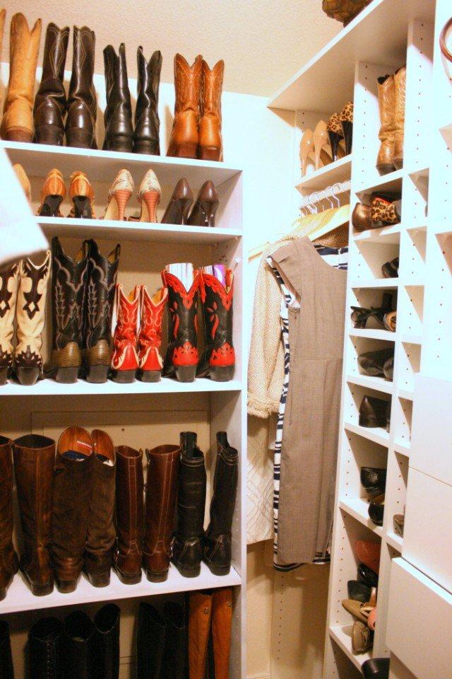 Attractive Boot Organization   Shoe Closet