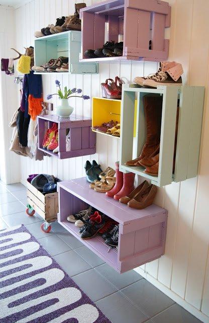 Boot Organization - Storage Shelves