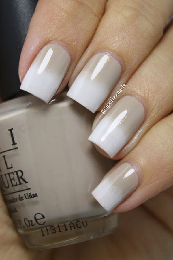 Pretty Designs For White Nails