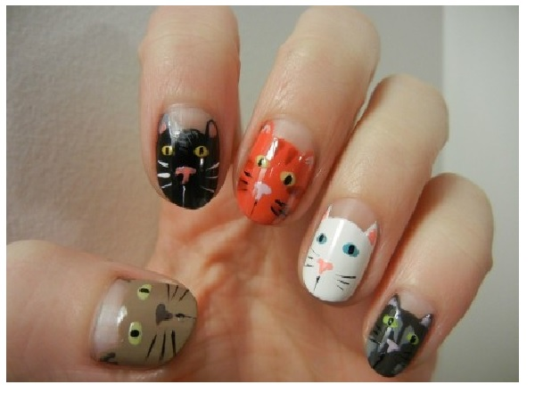 12 Cute Animal Nail Art Designs Pretty Designs