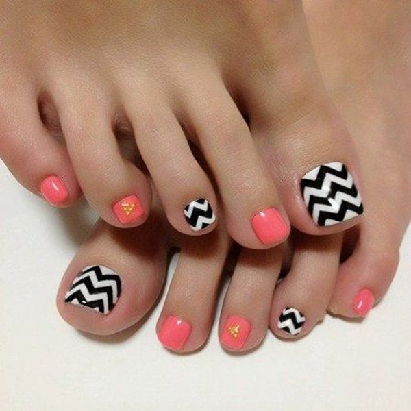 23 Cute Easy Toenail Designs for Summer - Pretty Designs