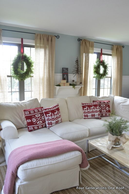 Christmas-inspired Sofa
