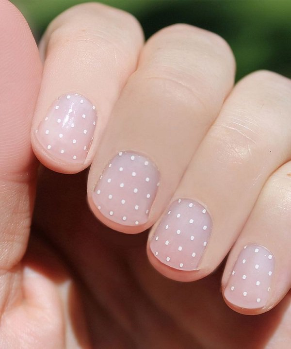 22 Lovely Polka Dot Nail Designs For 2016 Pretty Designs