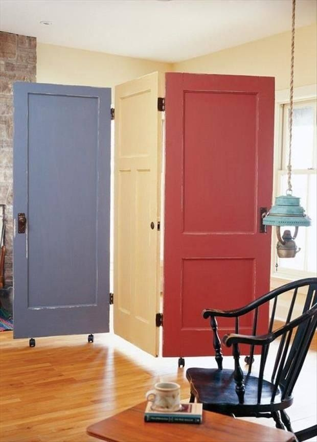 Colorful Door Divider