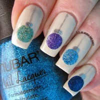 Crystal Ball Nail Design