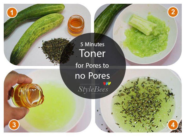 Cucumber and Green Tea Toner
