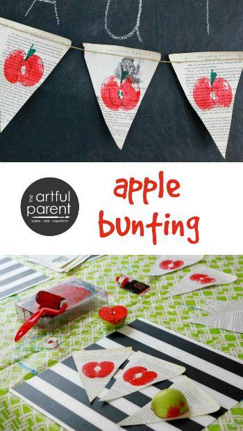 DIY Apple Bunting