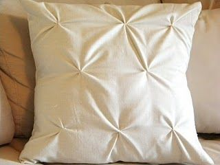 DIY Textured Pillow