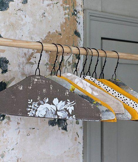 DIY Vintage Hanger
