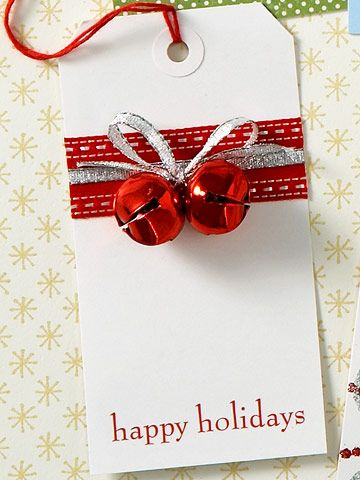 Decorate Plain Gift Tags