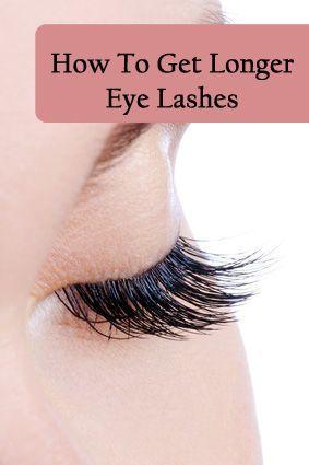 Dramatic Longer Eyelashes