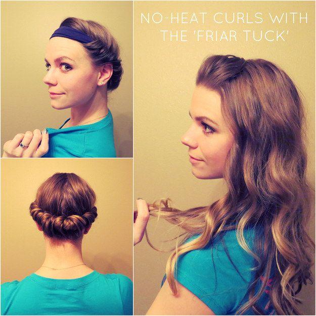 15 No Heat Hair Tutorials, die Sie für die nächste Saison lernen müssen
