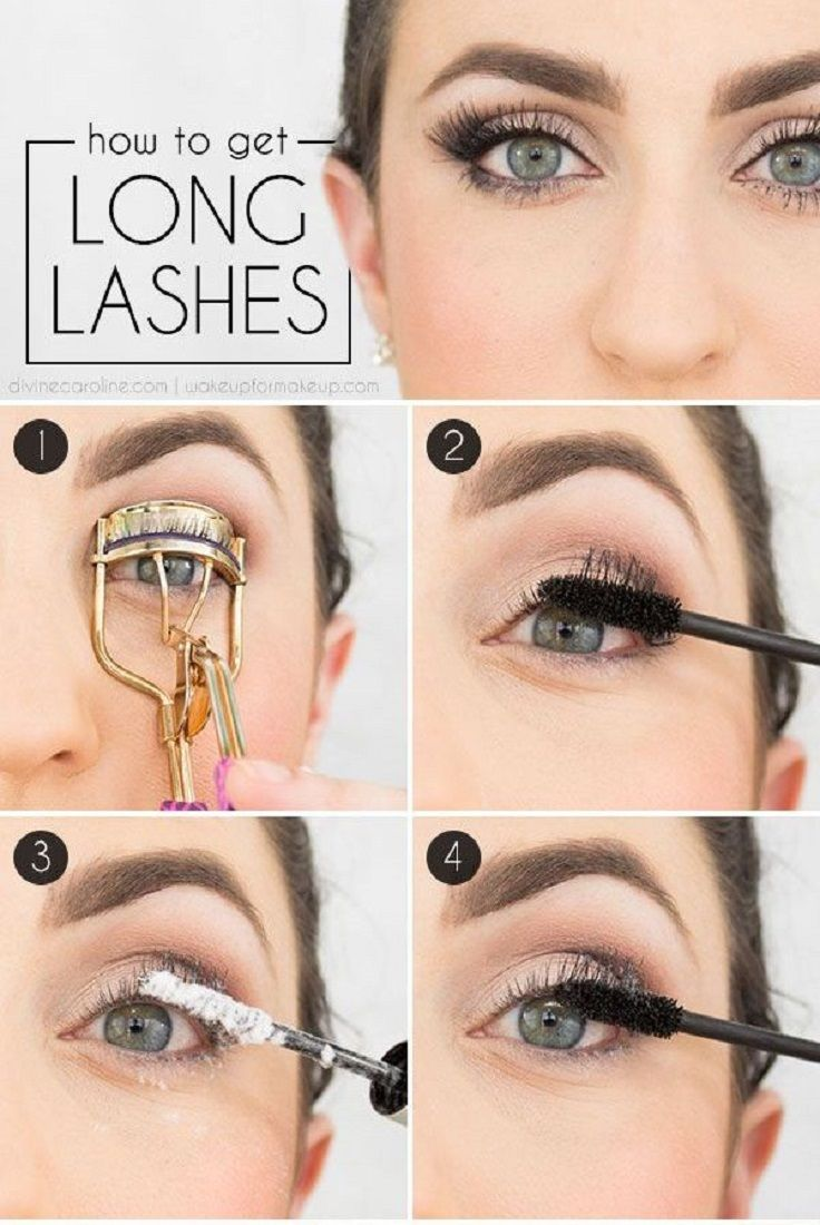 Makeup Tips—8 Ways to Make Eyelashes Longer - Pretty Designs