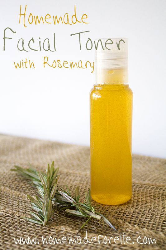 Facial Toner with Rosemary
