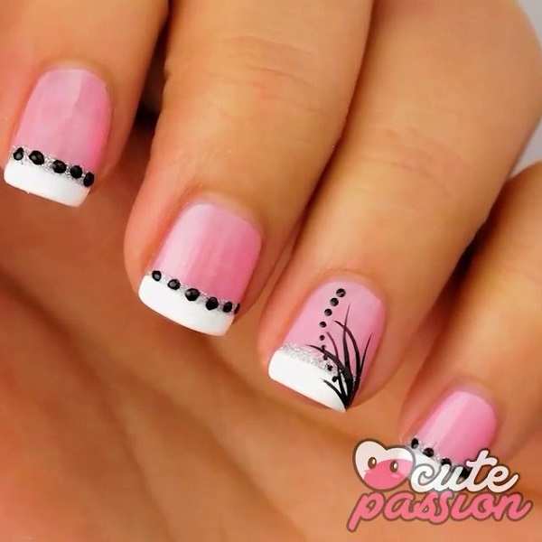 French Mani Pink Nails - 25 Cute Pink Nail Designs For 2016 - Pretty Designs