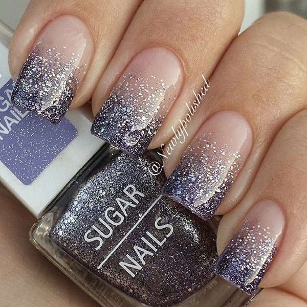 Pics Of Nail Art: 35 Amazing Glitter Nail Designs For 2019