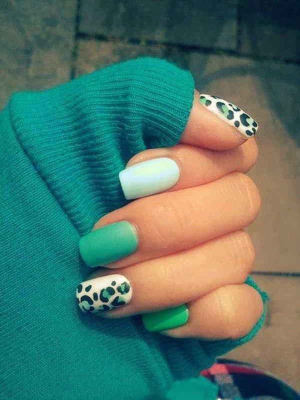Cute leopard nail designs cute leopard nail designs hair styles view images pretty nail designs for prinsesfo Choice Image