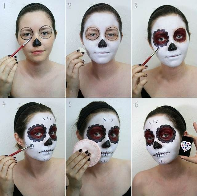 17 Inspirational Halloween Makeup Ideas - Pretty Designs
