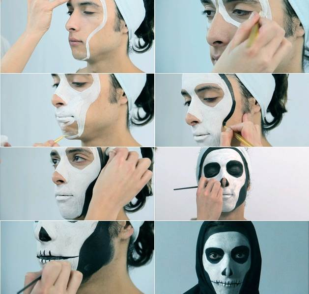 Halloween Makeup Tutorial for Men