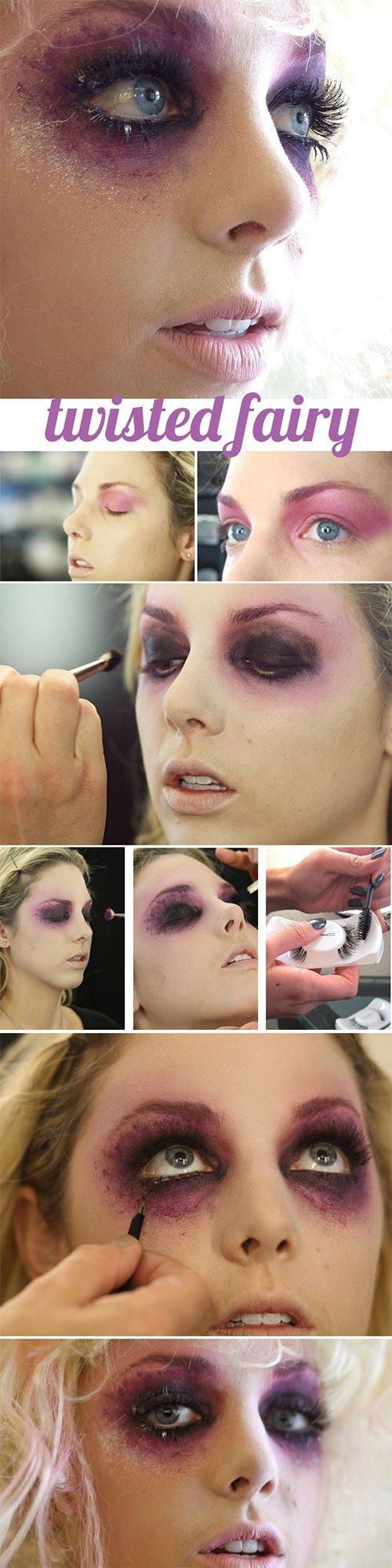 Halloween Twisted Fairy Makeup Tutorial