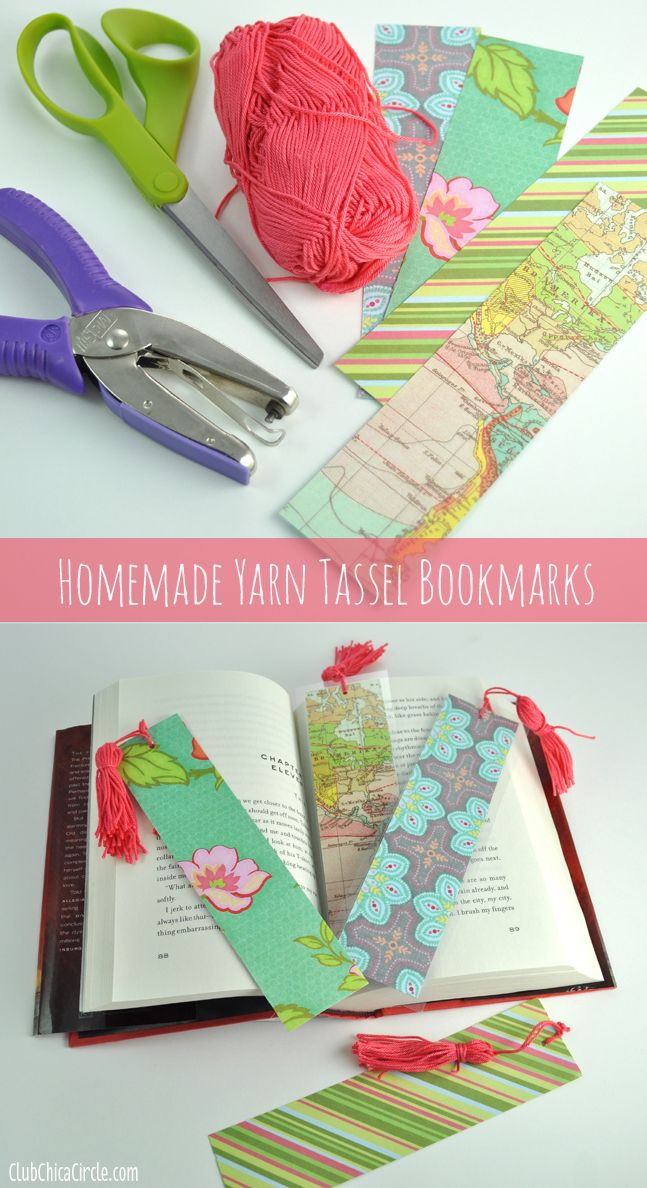 15 easy ideas to diy bookmarks pretty designs