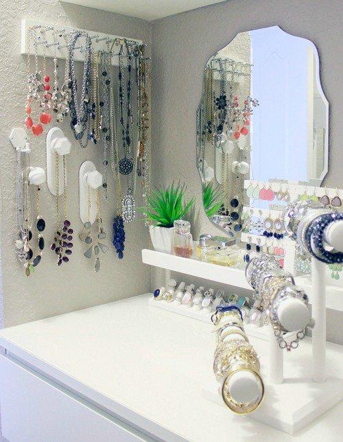 Jewelry Storage Idea