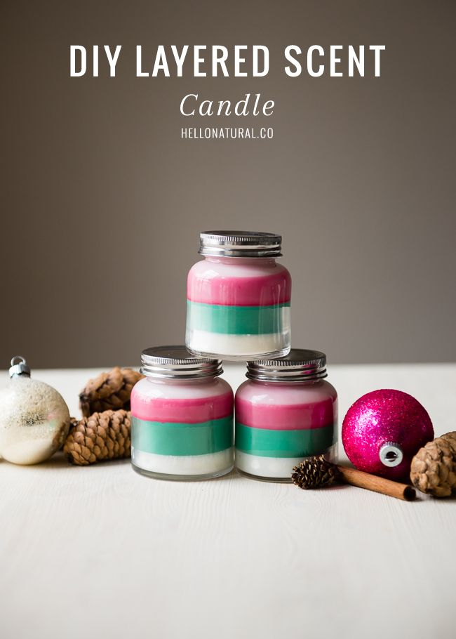 Layered Scent DIY Candle