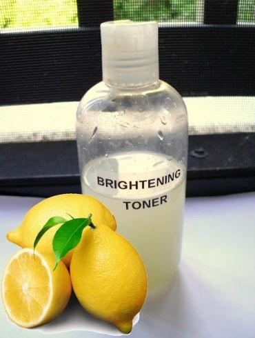 Lemon Brightening Toner