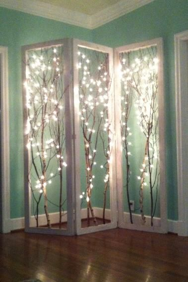 Lightening Room Divider