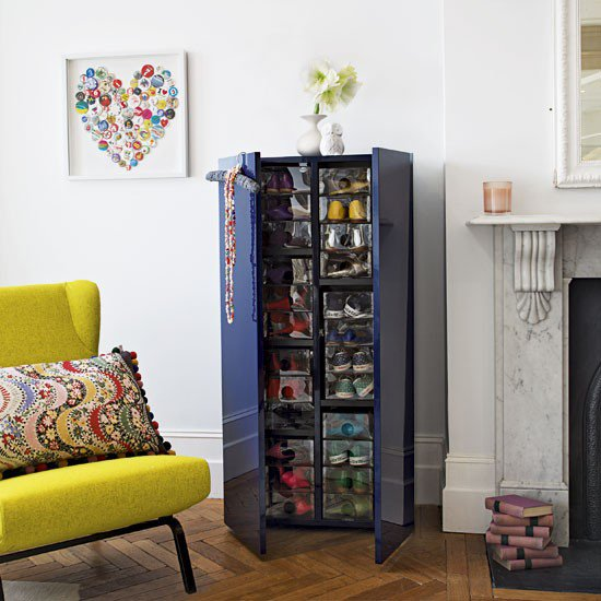 Living Room Shoe Cabinet