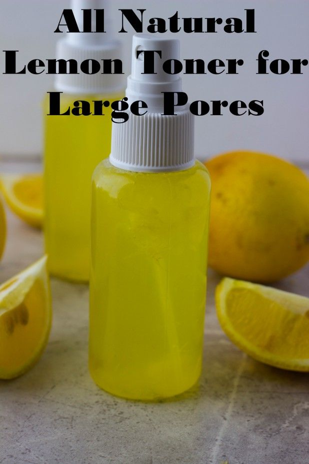 Natural Lemon Toner